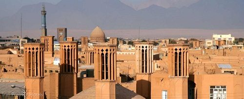 yazd is the centre of Zoroastrianism in Iran