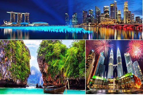تور تایلند و مالزی و سنگاپور