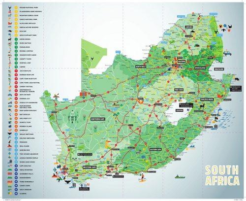 در جستجوی جاذبه های گردشگری آفریقای جنوبی هستید؟ 1