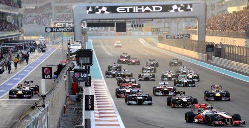 مسابقه فرمول 1 ابوظبی